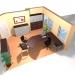 Chefzimmer, Einzelarbeitsplatz