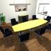 tonnenförmiger Konferenztisch