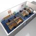 Callcentereinrichtung mit Akustikmodulen